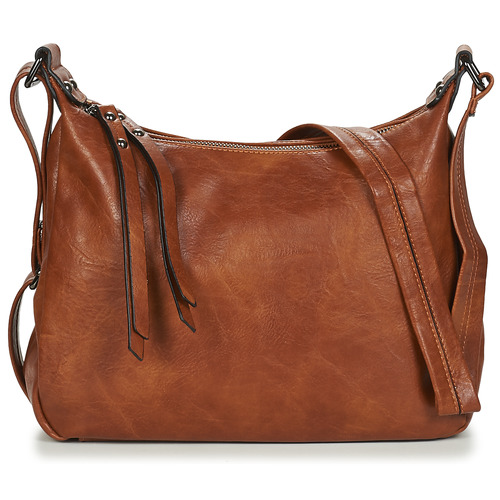 Bags Women Shoulder bags Moony Mood  Cognac