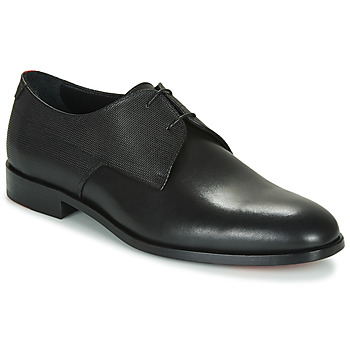 Shoes Men Derby Shoes HUGO MID TOWN DERB ITPR Black