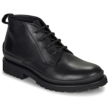 Shoes Men Mid boots HUGO SCOUT DESB IT Black