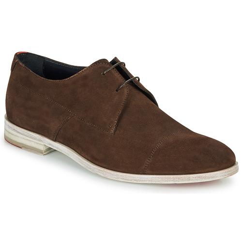 Shoes Men Derby Shoes HUGO MIDTOWN DERB SD Brown