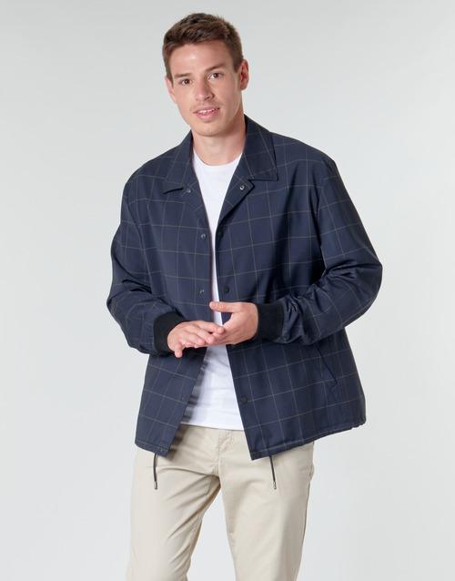 Clothing Men Jackets HUGO UROQ2022 Marine
