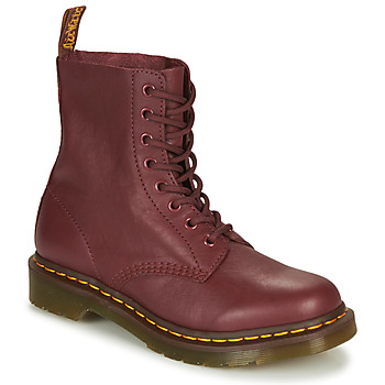 Shoes Women Mid boots Dr Martens 1460 PASCAL Red