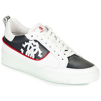 Shoes Men Low top trainers Roberto Cavalli 1089 White / Black