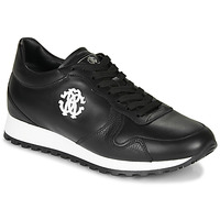 Shoes Men Low top trainers Roberto Cavalli 1022 Black