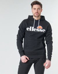 Clothing Men Sweaters Ellesse SL GOTTERO Black