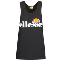 Clothing Women Tops / Sleeveless T-shirts Ellesse ABIGAILLE Black