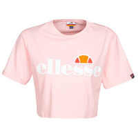 Clothing Women Short-sleeved t-shirts Ellesse ALBERTA Pink