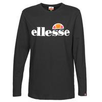 Clothing Women Long sleeved tee-shirts Ellesse GRAZIE Black