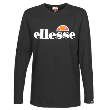 Clothing Women Long sleeved tee-shirts Ellesse GRAZIE Black