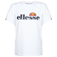 Clothing Women Short-sleeved t-shirts Ellesse ALBANY White