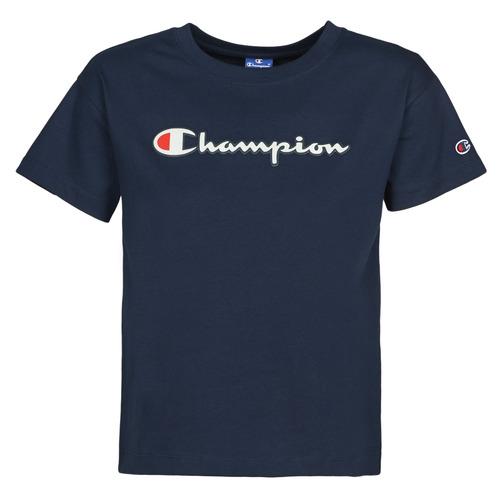 Clothing Women Short-sleeved t-shirts Champion KOOLATE Marine