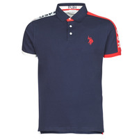 Clothing Men Short-sleeved polo shirts U.S Polo Assn. USPA PLAY POLO Marine