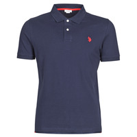 Clothing Men short-sleeved polo shirts U.S Polo Assn. INSTITUTIONAL POLO Marine