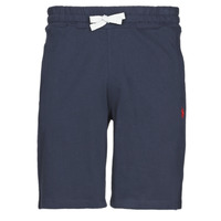 Clothing Men Shorts / Bermudas U.S Polo Assn. TRICOLOR SHORT FLEECE Marine