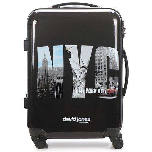 Bags Hard Suitcases David Jones STEBI Black