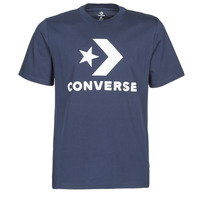 Clothing Men Short-sleeved t-shirts Converse STAR CHEVRON TEE Blue