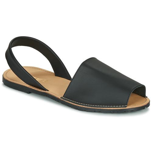 Shoes Women Sandals So Size LOJA Black
