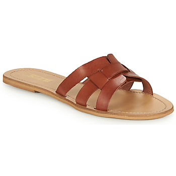 Shoes Women Mules So Size MELINDA Camel