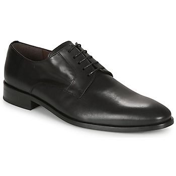 Shoes Men Derby Shoes So Size MANUELA Black
