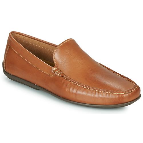 Shoes Men Boat shoes So Size MILLIE Camel