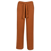 Clothing Women Wide leg / Harem trousers Moony Mood  Rust