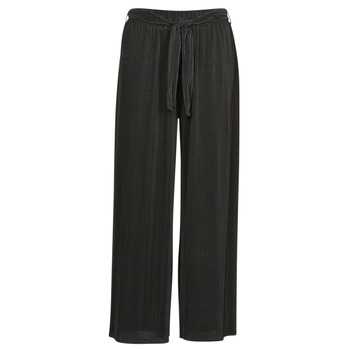 Clothing Women Wide leg / Harem trousers Moony Mood 93114-NOIR Black