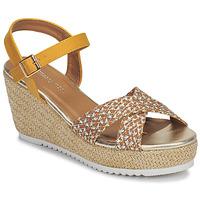 Shoes Women Sandals Moony Mood MELISSA Ocre tan