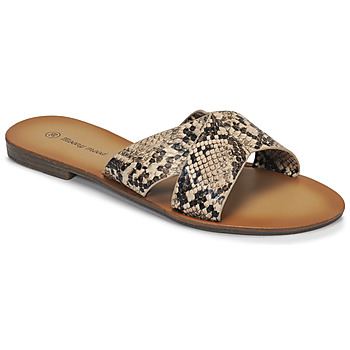 Shoes Women Mules Moony Mood MADISON Python