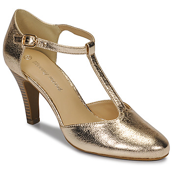 Shoes Women Heels Moony Mood MAELYS Gold / Matt