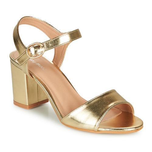 Shoes Women Sandals Moony Mood MEGANE Gold