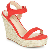 Shoes Women Sandals Moony Mood MARLEINE Red