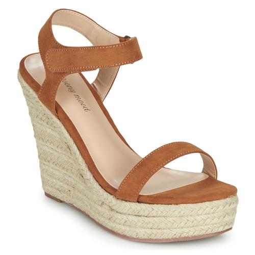 Shoes Women Sandals Moony Mood MARLEINE Camel