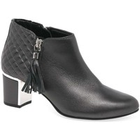 Shoes Women Ankle boots Van Dal Arial III Womens Quilted Tassel Zip Ankle Boots grey