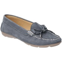Shoes Women Loafers Hush puppies Maggie Womens Moccasin Shoes blue