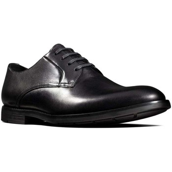 Shoes Men Derby Shoes Clarks Ronnie Walk Mens Lace Up Shoes black