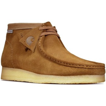 Shoes Men Mid boots Clarks Mens Wallabee Boot brown