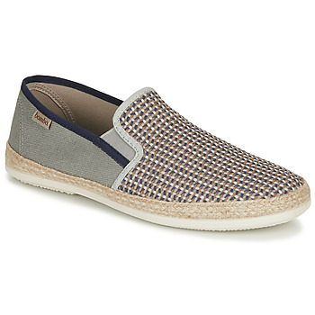 Shoes Men Espadrilles Bamba By Victoria ANDRE ELASTICO TRENZAD Grey