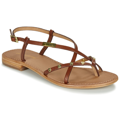 Shoes Women Sandals Les Tropéziennes par M Belarbi MONACLOU Tan