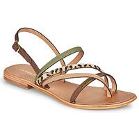 Shoes Women Sandals Les Tropéziennes par M Belarbi HOUKA Kaki / Multi