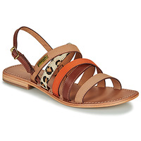 Shoes Women Sandals Les Tropéziennes par M Belarbi HOP Orange / Multi