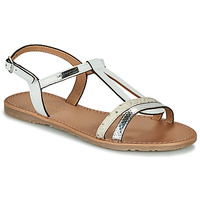 Shoes Women Sandals Les Tropéziennes par M Belarbi HAGO White / Multi