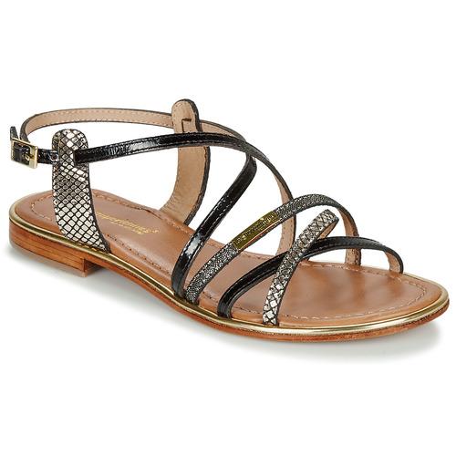 Shoes Women Sandals Les Tropéziennes par M Belarbi HARRY Black / Multi
