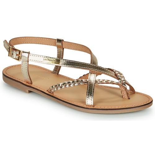 Shoes Women Sandals Les Tropéziennes par M Belarbi CHOU Gold