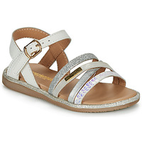 Shoes Girl Sandals Les Tropéziennes par M Belarbi INAYA White
