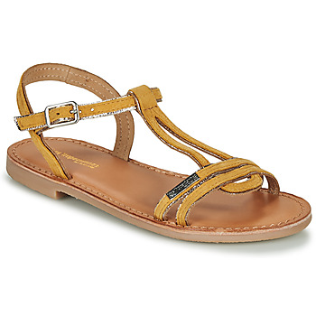 Shoes Girl Sandals Les Tropéziennes par M Belarbi BADABUC Yellow