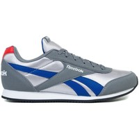 Shoes Boy Low top trainers Reebok Sport Royal CL Jogger 2 Grey,Blue,Silver