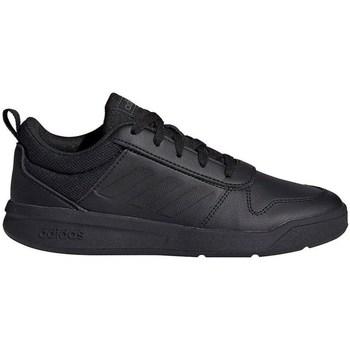 Shoes Children Low top trainers adidas Originals Tensaur K Black
