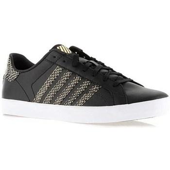 Shoes Women Low top trainers K-Swiss Belmont SO Black,Golden