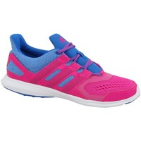 Shoes Girl Low top trainers adidas Originals Hyperfast 20 K Blue,Pink