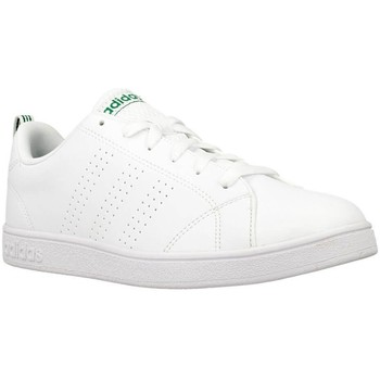 Shoes Children Low top trainers adidas Originals VS Advantage White